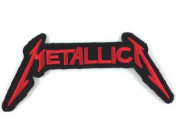 METALLICA patches 11.5x5 cm Iron on Patch / Embroidered Patch This Appliques Are Great for T-shirt, Hat, Jean ,Jacket, Backpacks.