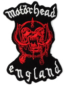 MOTORHEAD patches 7.7x11.8 cm Iron on Patch / Embroidered Patch This Appliques Are Great for T-shirt, Hat, Jean ,Jacket, Backpacks.