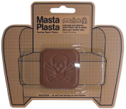 MastaPlasta Peel and Stick First-Aid Leather Repair Band-Aid for Furniture, Pirate, 5.1cm by 5.1cm , Tan