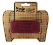 MastaPlasta Peel and Stick First-Aid Leather Repair Band-Aid for Furniture, Bandage, 3.8cm by 10cm , Red