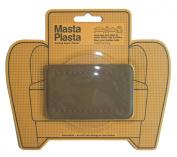 MastaPlasta Peel and Stick First-Aid Leather Repair Band-Aid for Furniture, Medium Plain, 10cm by 6.1cm , Dark Brown