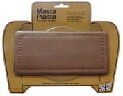 MastaPlasta Peel and Stick First-Aid Leather Repair Band-Aid. Plain design 20cm by 10cm . TAN