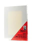 Discovery Finest Stretched Cotton Canvas white 15cm . x 20cm . each [PACK OF 6 ]