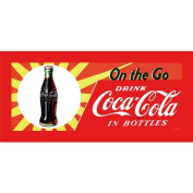 Trademark Fine Art On the Go by Coca-Cola 30cm x 80cm