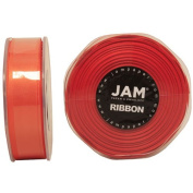 Orange Satin 2.2cm thick x 25 yards Spool of Double Faced Satin Ribbon - Sold individually