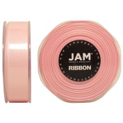 Light Pink Satin 2.2cm thick x 25 yards Spool of Double Faced Satin Ribbon - Sold individually
