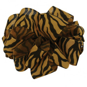 Offray Jungle Tiger Animal Print Craft Ribbon, 1.6cm Wide by 25-Yard Spool, Orange/Black