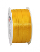 Morex Ribbon Europa Taffeta Ribbon Spool, 1cm by 55-Yard, Yellow Gold