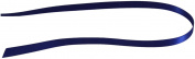Kel-Toy Double Face Satin Ribbon, 1cm by 100-Yard, Navy Blue
