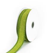 Creative Ideas Jute Ribbon, 2.2cm , Apple Green