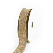 Creative Ideas Jute Ribbon, 2.2cm , Toffee