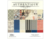 Abroad Paper Pad 30cm x 30cm 24/Sheets-12 Double-Sided, Textured Designs/2 Each