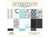 Classique Elegant Paper Pad 30cm x 30cm 24/Sheets-12 Double-Sided, Textured Designs/2 Each