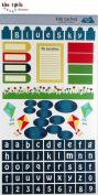 Kite Tails Blue Sky Day Die Cut Stickers