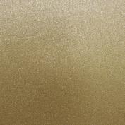 Best Creation 30cm by 30cm Glitter Cardstock, Sand