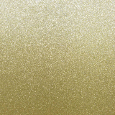 Best Creation 30cm by 30cm Glitter Cardstock, Bright Gold