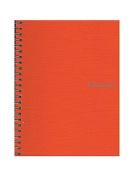 Fabriano EcoQua Notebooks spiral blank orange 15cm . x 21cm .
