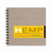 Hemp Sketch Book, Medium 18cm x 18cm