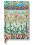 Paperblanks Mucha Journals tiger lily Mini, 10cm . x 14cm . 176 pages, unlined