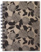 Hemp Heritage® Letterpress Journal- Chrysanthemum