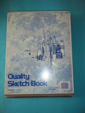 Roaring Spring 52114 Quality Sketch Book 28cm x 36cm 30 Sheets