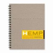 Hemp Sketch Book, Large 22cm x 28cm