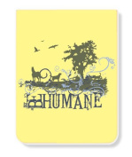 Just Be PK-11952-HUM Just Be Humane Lined Pocket Pad/Notebook