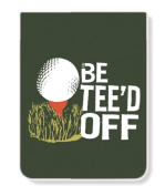 Just Be PK-14343-TEE Just Be Tee'd Off Lined Pocket Pad/Notebook