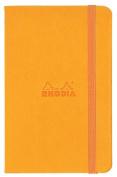 Rhodia Orange Webnotebook 3.5X5.5 Blank