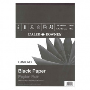 Daler-Rowney Raven Black Pads 28cm . x 41cm .