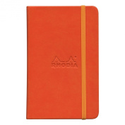 Rhodiarama A6 Lined Notebook Tangerine