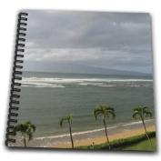 Patricia Sanders Hawaii - Palm Trees Along Maui Coast of Hawaii Travel - Drawing Book