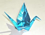 Thin Aqua Foil - 3.5 in (8.8 cm) 100 Sheets