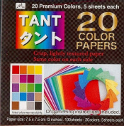 20 Colour TANT - 3in (7.5cm) 100 Sheets