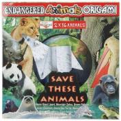 Yasutomo Creative Origami Kit - Endangered Animals