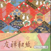 Origami Paper Yuzen Washi 24-sheets
