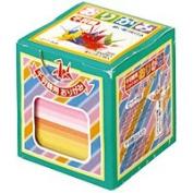 Toyo Thousand Paper Cranes Origami 7.0cm BOX , 20 Colours, 1000 Sheets