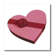 Boehm Graphics - Heart Shaped Box of Chocolates - Iron on Heat Transfers