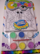 Paint Your Own Canvas Craft Kit ~ Walking Crab