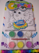 Paint Your Own Canvas Craft Kit ~ Puffer Fish Under the Sea