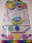 Paint Your Own Canvas Craft Kit ~ Seahorse