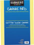 Sargent Art 90-4003 46cm x 60cm Canvas Pad, 100% Cotton
