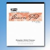 Sax Genuine Canvas Pad - 46cm x 60cm - 10 Sheets per Pad - White