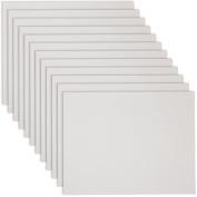US Art Supply 30cm X 41cm Professional Artist Quality Acid Free Canvas Panels 12-Pack