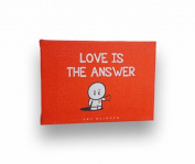Love Is the Answer - Typography Artwork, 13cm X 18cm Stretched Canvas - Positive Motivational Quotes