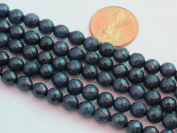 Mountain Jade (Dyed) Dark Blue 6mm Faceted Round 15.5'' 62pcs Per Strand
