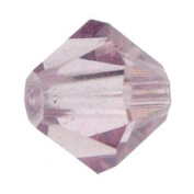 . Crystal Elements Bi-Cone 6mm light amethyst