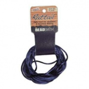 1mm Satin Rattail Braiding Cord Navy 6 Yards For Kumihimo and Craft 420202