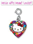 High Intensity Charm It! Hello Kitty Heart Shaped Locket