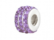 SilveRado (tm) BM007-7 Bling-Triple Bling Purple